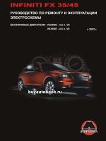 Руководство по ремонту и эксплуатации Infiniti FX 35 / FX 45. Модели с 2002 года, оборудованные бензиновыми двигателями
