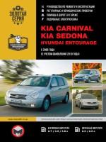 Руководство по ремонту и эксплуатации Kia Carnival / Sedona. Модели с 2006 года (+рестайлинг 2010г.), оборудованные бензиновыми и дизельными двигателями