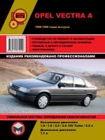 Руководство по ремонту и эксплуатации Opel Vectra A. Модели с 1988 по 1995 год, оборудованные бензиновыми и дизельными двигателями