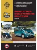Руководство по ремонту и эксплуатации Renault Trafic / Opel Vivaro. Модели с 2006 года, оборудованные бензиновыми и дизельными двигателями