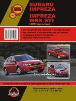 Руководство по ремонту и эксплуатации Subaru Impreza / Impreza WRX STI. Модели с 2008 года, оборудованные бензиновыми двигателями
