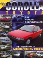 Руководство по ремонту Toyota Corolla. Модели с 1983 по 1992 год выпуска, оборудованные бензиновыми и дизельными двигателями