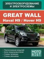 Электросхемы Great Wall Hover H9 / Haval H9. Модели, оборудованные бензиновыми двигателями