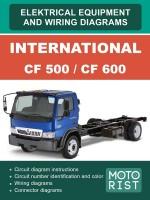 Электросхемы International CF 500 / CF 600. Модели с 2007 года выпуска, оборудованные дизельными двигателями