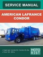 Инструкция по эксплуатации American LaFrance Condor. Модели, оборудованные дизельными двигателями