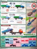 """Плакат """"Перевозка крупногабаритных и тяжеловесных грузов автотранспортом"""" (9 листов)"""