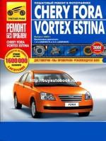 Руководство по ремонту и эксплуатации Chery Fora / Vortex Estina в цветных фотографиях. Модели с 2005 года, оборудованные бензиновыми двигателями
