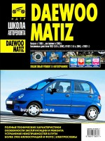 Руководство по ремонту и эксплуатации Daewoo Matiz в фотографиях. Модели с 1998 года, оборудованные бензиновыми двигателями