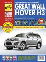 Руководство по ремонту и эксплуатации Great Wall Hover H3. Модели с 2010 года выпуска, оборудованные бензиновыми двигателями