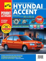 Руководство по ремонту и эксплуатации Hyundai Accent в цветных фотографиях. Модели с 2002 года, оборудованные бензиновыми двигателями