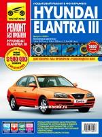 Руководство по ремонту и эксплуатации Hyundai Elantra 3 в цветных фотографиях. Модели с 2000 по 2006 год, оборудованные бензиновыми двигателям