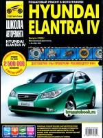 Руководство по ремонту и эксплуатации Hyundai Elantra 4 в фотографиях. Модели с 2006 года, оборудованные бензиновыми двигателями