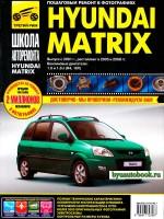 Руководство по ремонту и эксплуатации Hyundai Matrix в фотографиях. Модели с 2001 года, оборудованные бензиновыми двигателями