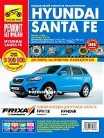 Руководство по ремонту и эксплуатации Hyundai Santa Fe в цветных фотографиях. Модели с 2006 года (+рестайлинг с 2010г.), оборудованные бензиновыми и дизельными двигателями