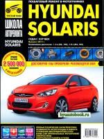 Руководство по ремонту и эксплуатации Hyundai Solaris в фотографиях. Модели с 2011 года, оборудованные бензиновыми двигателями