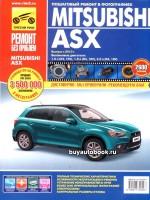 Руководство по ремонту и эксплуатации Mitsubishi ASX в цветных фотографиях. Модели с 2010 года, оборудованные бензиновыми двигателями