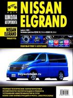 Руководство по ремонту и эксплуатации Nissan Elgrand в фотографиях. Модели с 2002 года, оборудованные бензиновыми двигателями