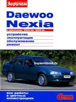 Руководство по ремонту Daewoo Nexia. Инструкция по эксплуатации. Модели, оборудованные бензиновыми двигателями