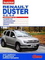 Руководство по ремонту и эксплуатации Renault Duster. Модели оборудованные бензиновыми двигателями.