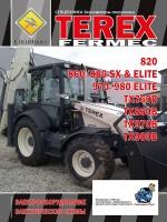 Электрооборудование и электрические схемы Terex Fermec 820, 860 / 880 SX / ELITE, 970/980 ELITE, TX760B, TX860B, TX970B, TX980B. Модели оборудованные дизельными двигателями
