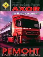 Руководство по ремонту, инструкция по эксплуатации Mercedes Axor. Каталог деталей. Модели с 2001 года выпуска. Том 2