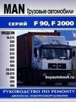 Руководство по ремонту MAN F90 / F2000. Модели оборудованные дизельными двигателями