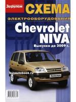 Схема электрооборудования Chevrolet Niva модели до 2009 года