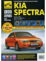 Руководство по ремонту и эксплуатации Kia Spectra в фотографиях. Модели с 2004 года, оборудованные бензиновыми двигателями