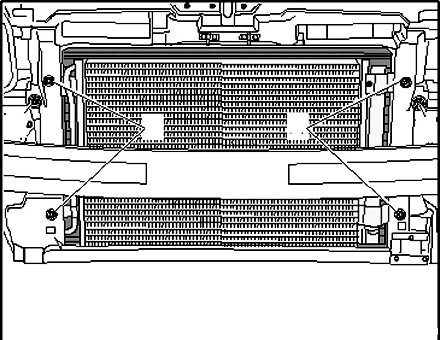Крепление радиатора Seat Toledo