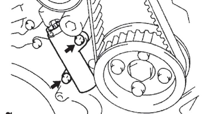Замена ремня грм на прадо 150 дизель своими руками 908