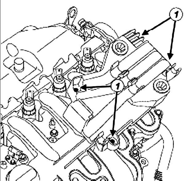 Откручивание болтов Renault Master