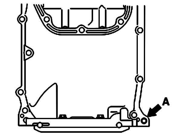 Откручивание болтов масляного поддона Mitsubishi Galant