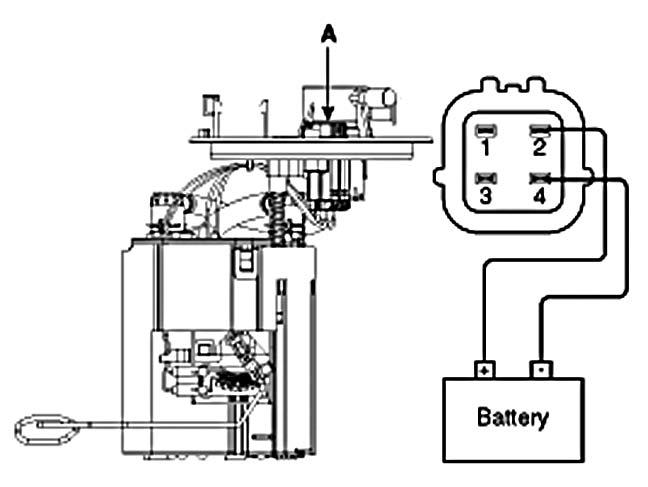 схема топливного насоса шевроле
