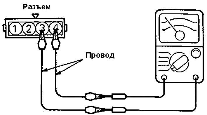 Соединение ометра с входами Mitsubishi Colt