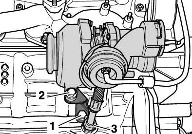 Турбонагнетатель в разборе Skoda Octavia A5