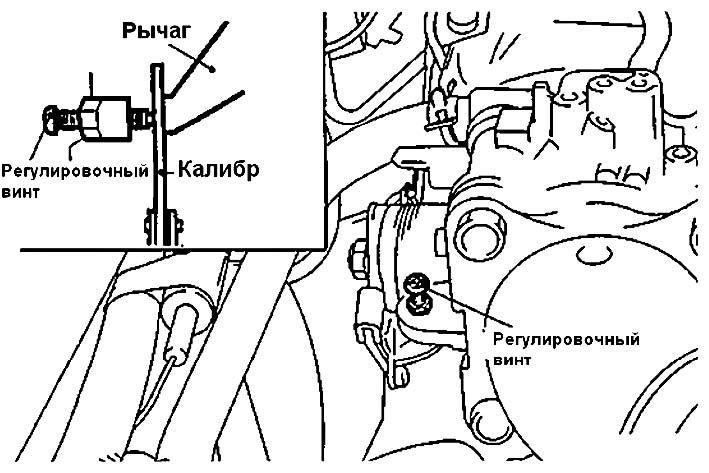Вставка калибра Mitsubishi Colt