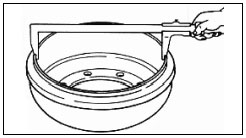 Манжета поршня JAC 1045 рис-1