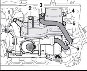 маслопроводы Audi A6, маслопроводы A6 Avant