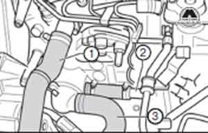 патрубок жидкости Audi 100