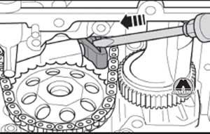 поршень натяжителя шестерни Audi A6, поршень натяжителя шестерни A6 Avant