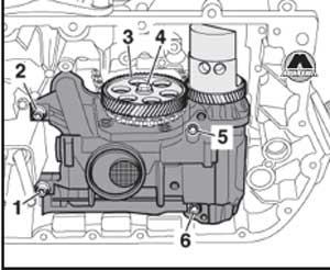 привод балансируемого вала Audi A6, привод балансируемого вала A6 Avant