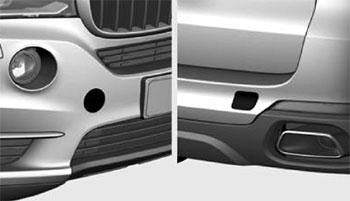 Доступ к резьбовому гнезду BMW Х5