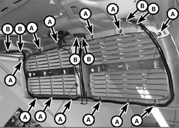 Решетка радиатора Dodge RAM