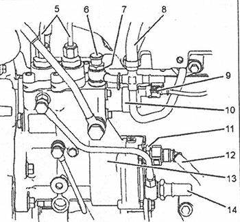 Штуцер Perkins 1104D-E44TA