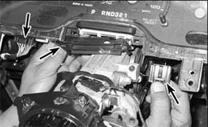 Индикатор выбранного режима Ford Explorer