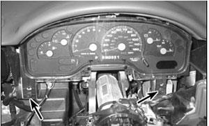 Панель приборов Ford Explorer