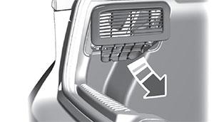 Вентиляционная решетка Ford Focus
