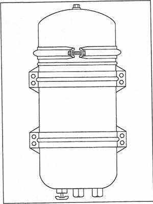 Дополнительный фильтр Luber-finer модели 750-СТ