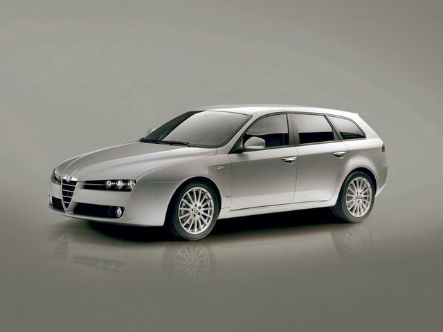 описание, характеристики, Alfa Romeo 159, 159 Sportwagon, Альфа Ромео 159, 159 Спортвагон