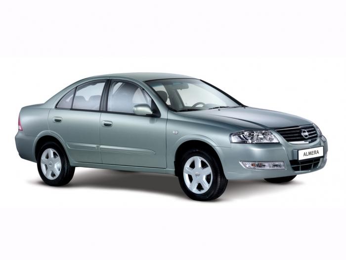 описание, характеристики, Nissan Almera Classic, Ниссан Альмера Классик